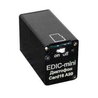 Диктофон Edic-mini CARD16 A99 Edic