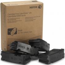 Твердые чернила Xerox 108R00840 для Xerox ColorQube 9201, 9202, 9203, 9301, 9302, 9303, оригинальные (черные, 4 шт, 40000 стр) 7990-01