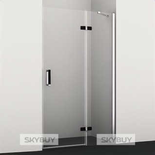 Душевая дверь в нишу Wasserkraft Aller 10H05RB black matt, 120 см