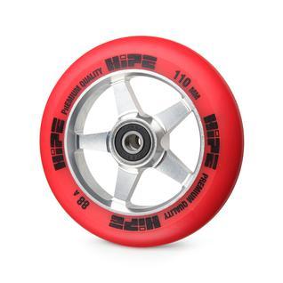 Колесо Hipe 09 110mm, серебро/красное