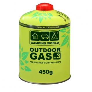 Баллон газовый резьбовой Camping World Outdoor 450г. (381865)