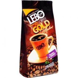Кофе молотый LEBO GOLD для заваривания в чашке 100г