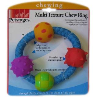 "Petstages Petstages игрушка для собак ""Канат-кольцо с мячиками"""