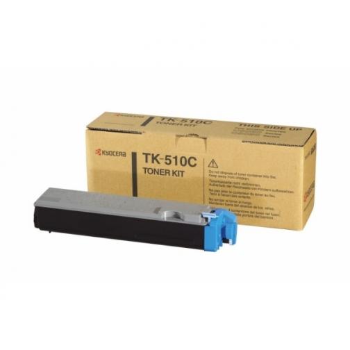 Тонер-картридж TK-510C голубой для Kyocera FS-C5020N/C5025/C5030N оригинальный 1313-01 852074 1