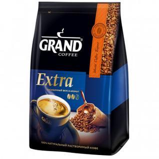 Кофе Grand Extra раств., 500 г пакет.