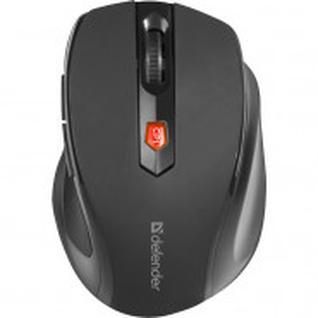 Мышь компьютерная Defender Ultra MM-315, 6 кн., 800-1600 dpi, черная