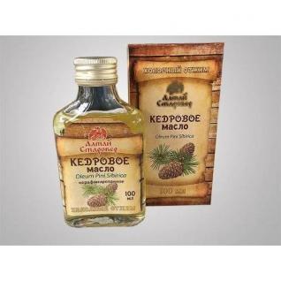 Кедровое масло «Горы Алтая» Алтай старовер