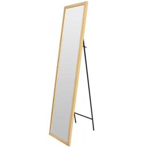 Зеркало МИР_в раме МДФ 354x24x1554 / 300x1500 (3400421.10) светлоедерево 37858685 3