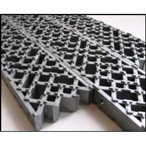 Модульное напольное грязесборное покрытие толщ. 20 мм 822431