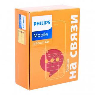 Мобильный телефон Philips E109 Xenium (Black)