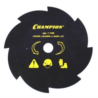 Нож для жесткой травы CHAMPION 8/230/25,4 C5108