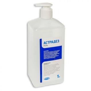 Антисептик кожный Астрадез-гель 1,0 л (с дозатором) УТ000002010