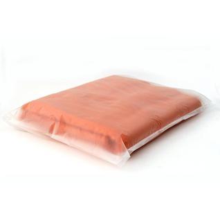 Плед флис 220 гр/м2 130х150, оранжевый