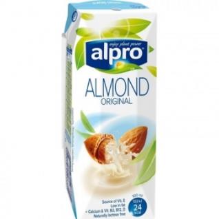 Напиток миндальный с кальцием и витаминами ALPRO 0,25л 15шт/уп