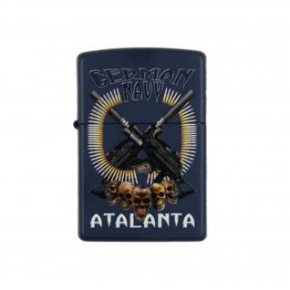 Zippo Зажигалка Zippo Аталанта ВМС Германии, цвет синий