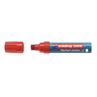 Маркер по бумаге (флипчарт) EDDING E-388/002 красный 4-12 мм