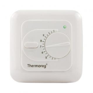 Терморегулятор для теплого пола Thermoreg TI-200 белый
