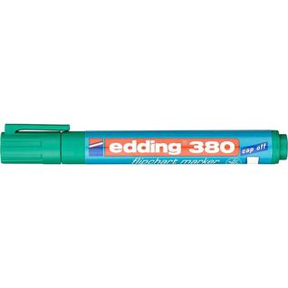 Маркер по бумаге (флипчарт) EDDING E-380/4 зелен
