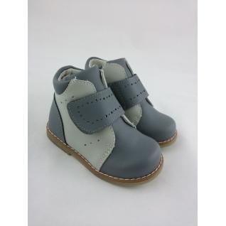 A-T62-74-C(12) серый, Ботинки для мальчика, р.18-23 (20) Tоm.m