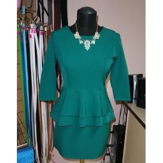Платье с баской 42 размер