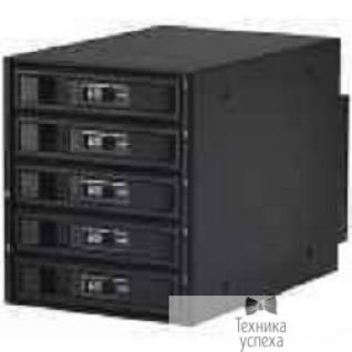 Procase Procase L3-305-SATA3-BK Hot-swap корзина 5 SATA3/SAS 6Gb, черный, с замком, hotswap aluminium mobie rack module (3x5,25)