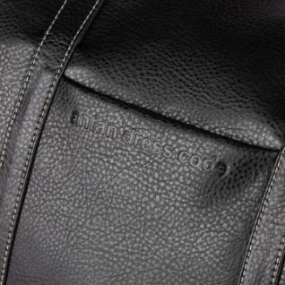 Сумка дорожная Antan из эко кожи черного цвета 2-207