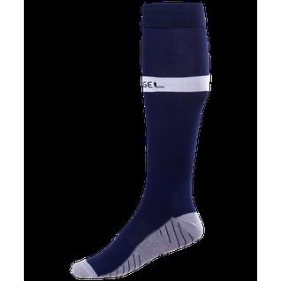 Гетры футбольные Jögel Ja-003, темно-синий/белый размер 28-31