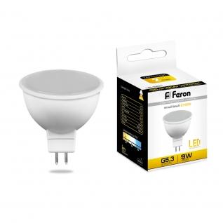 Светодиодная лампа Feron LB-560 (9W) 230V G5.3 2700K MR16