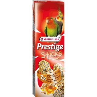 VERSELE-LAGA VERSELE-LAGA палочки для средних попугаев Prestige с орехами и медом 2х70 г
