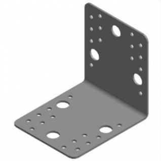 Кронштейн крепежный 4/3 105х105х90х2мм равносторонний Буратино оцинкованный