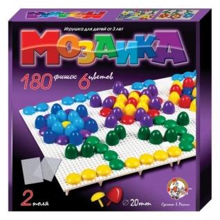 """Детская игра """"Мозаика"""", 180 шт. Десятое Королевство"""