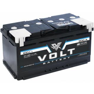 Аккумулятор VOLT STANDARD 6CT- 100 N 100 Ач (A/h) прямая полярность - VS 10011 VOLT VS 6CT - 100 N