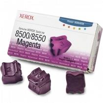Твердые чернила Xerox 108R00670 для Xerox Phaser 8500, 8550, оригинальные (пурпурные, 3 шт, 3000 стр) 8001-01