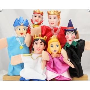 """Кукольный театр """"Спящая красавица"""", 6 кукол Жирафики"""