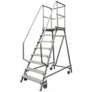 Лестница-платформа STABILO с 6-ю алюм. ступеньками