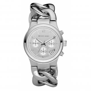 Часы женские Michael Kors Runway Twist, серебряные
