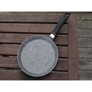 Блинная сковорода ПМ: Интер Сковорода блинная, Casta Мрамор, 22 см, литой алюминий