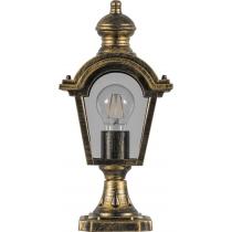 Садово-парковый фонарь Feron PL4013 60W 230V E27 черное золото
