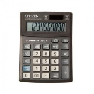 Калькулятор настольный КОМПАКТНЫЙ CITIZEN BusinessL CMB1001-BK 10раз.Чер