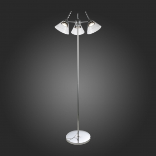 Торшер St Luce Хром/Прозрачный LED 3*7W