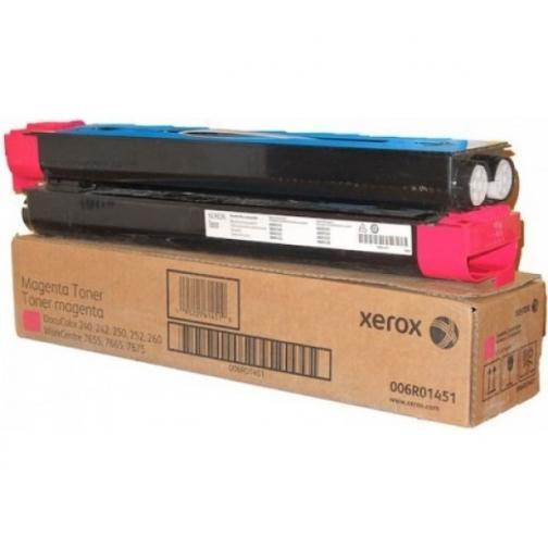 Картридж Xerox 006R01451 для Xerox DocuColor 240, 242, 250, 252, 260, WorkCentre 7655, 7665, 7675, оригинальный, (пурпурный, 34000 стр., 2 шт.) 1141-01 852207 1