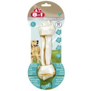 8in1 8in1 DENTAL DELIGHTS L косточка для чистки зубов 21 см