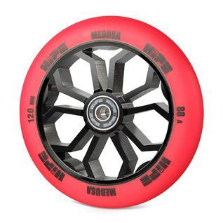 Колесо Hipe Medusa Wheel Lmt36 120мм Red/core Black, красный/черный