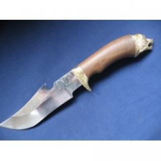 Нож - ЕгерьСТ-16Дамаская стальМатериал рукоятиЦПД + 1литье