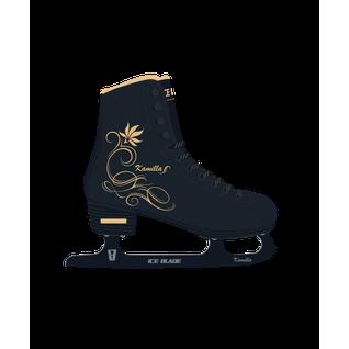 Коньки фигурные Ice Blade Kamilla синт.кожа с мехом размер 39