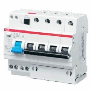 Дифференциальный автомат 4-х полюсный С25 30мА (ABB, DSH)