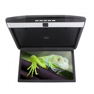 """Автомобильный потолочный монитор Full HD 15.6"""" ERGO ER15AND на ANDROID (черный) (+ Беспроводные наушники в подарок!)"""