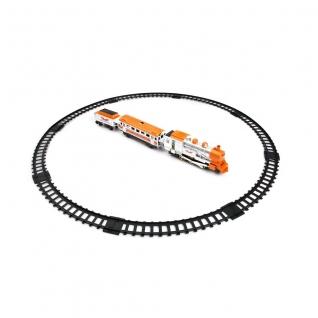 """Железная дорога """"Мой первый поезд"""" (звук,свет, дым), 11 элементов Play Smart"""
