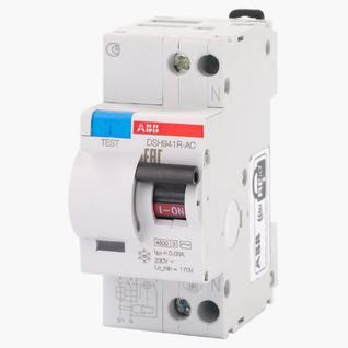Дифференциальный автомат ABB (DSH941RAC-C10/0,03) C 10А 30мА 1P+N