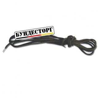 Шнурки чёрные 160 см